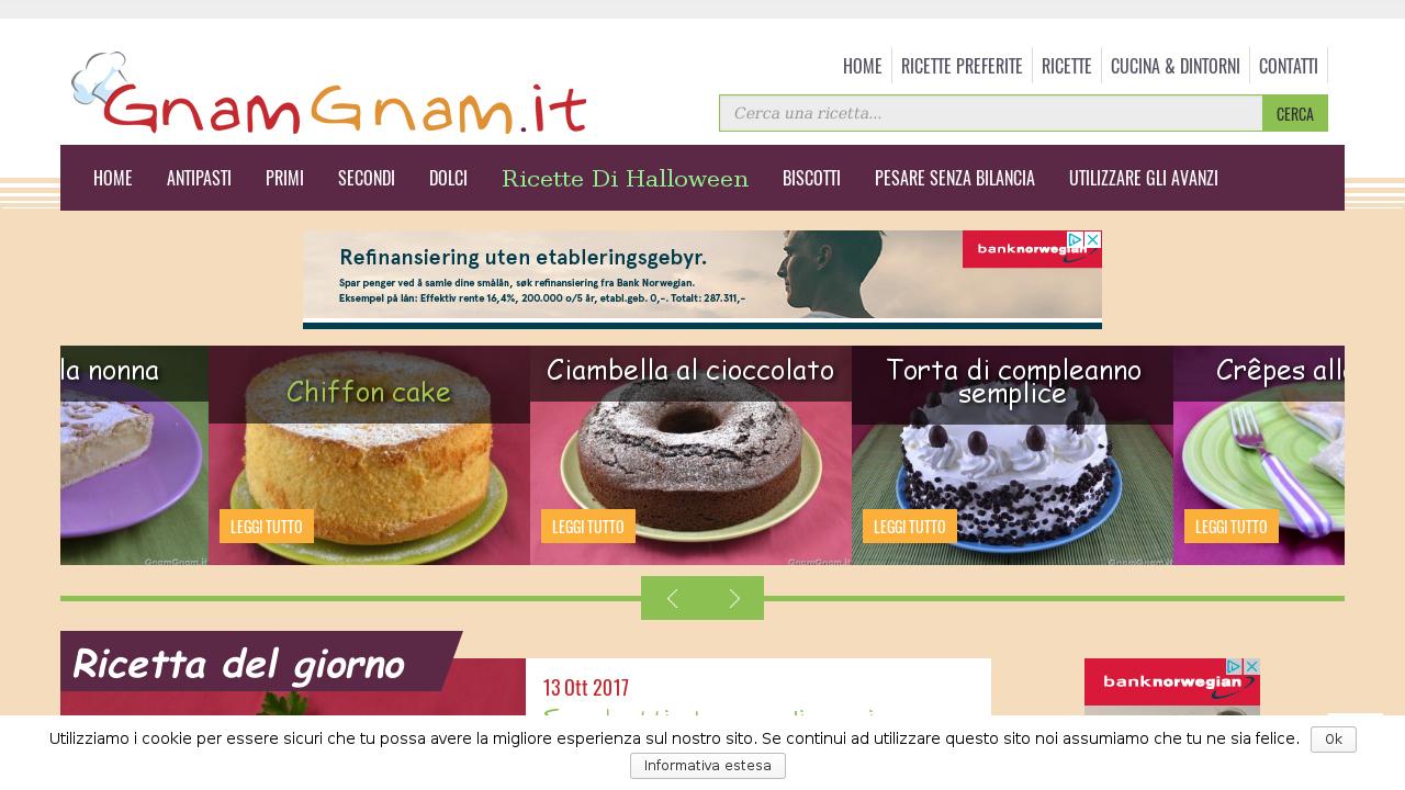 Le ricette di GnamGnam