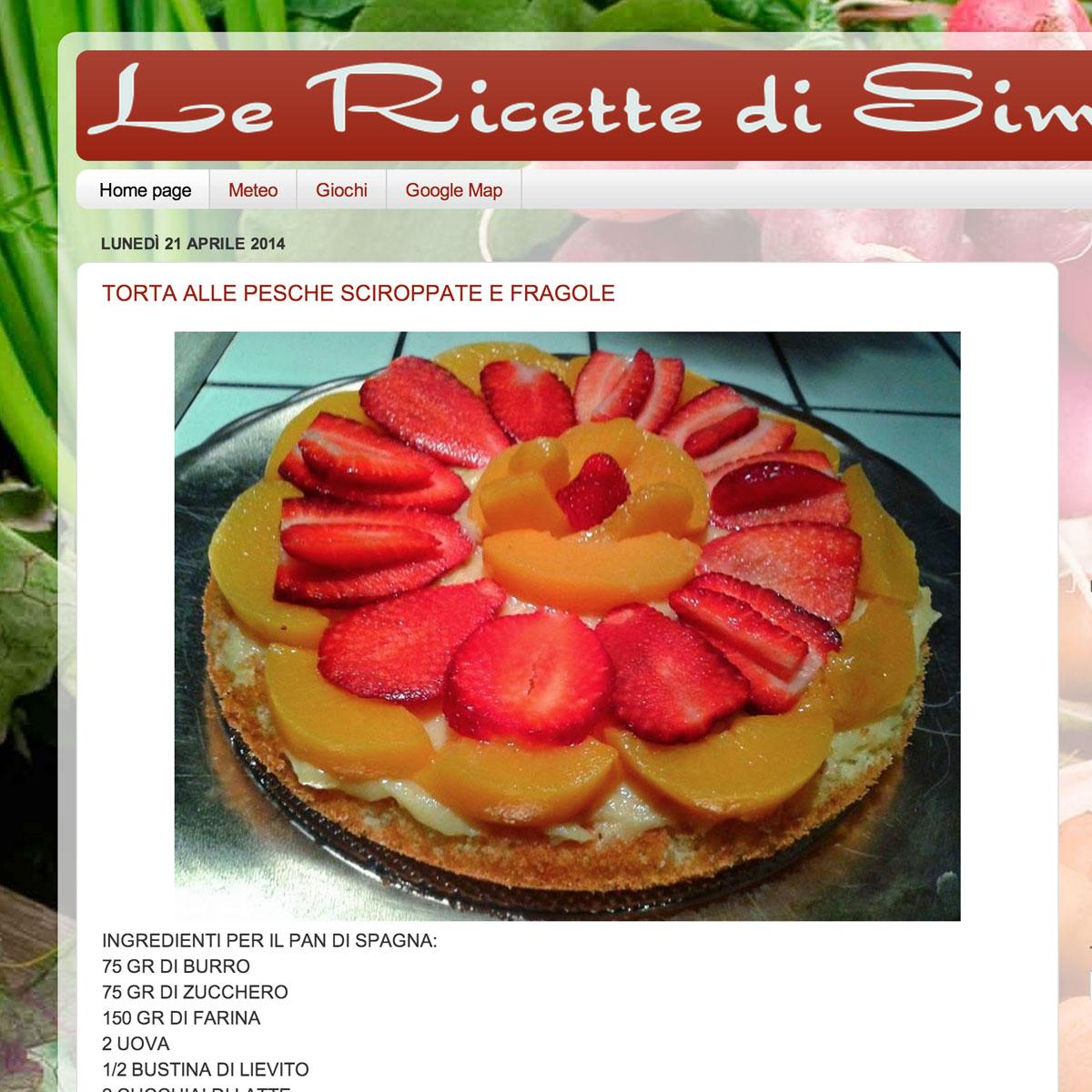 Le ricette di Simona