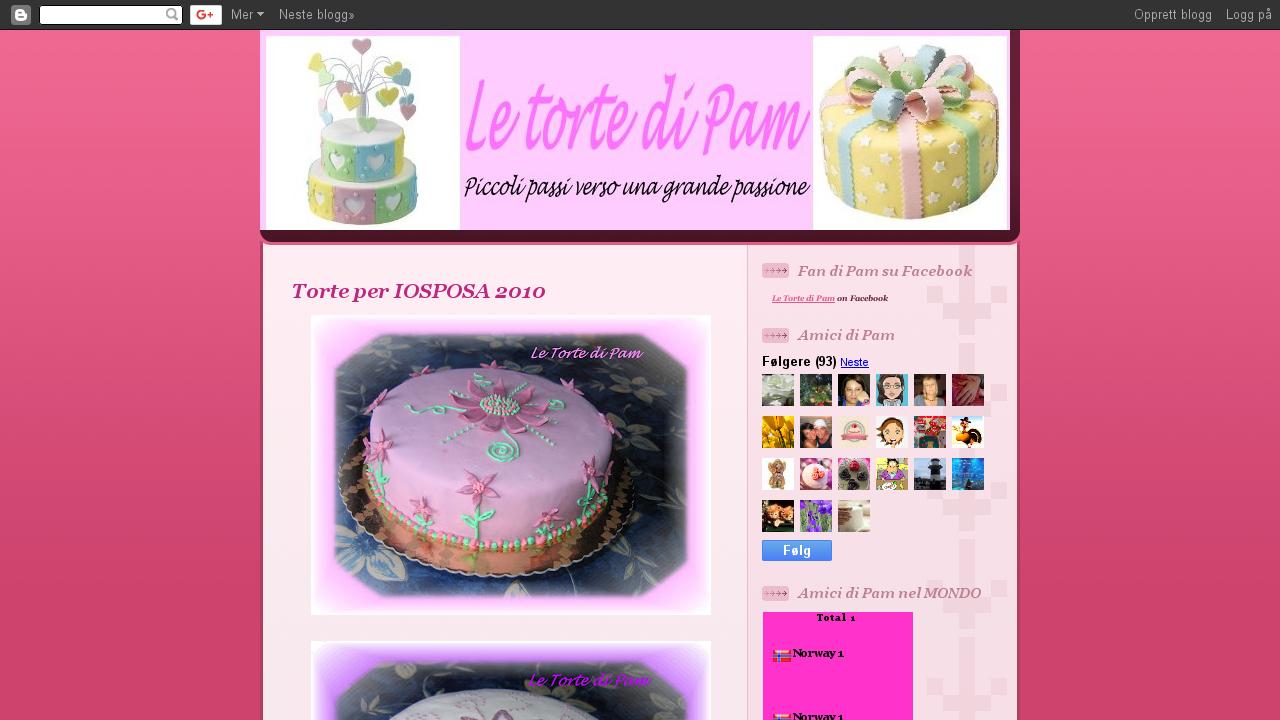 Le torte di Pam