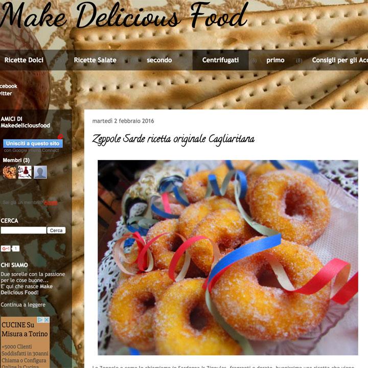 Make Delicious Food