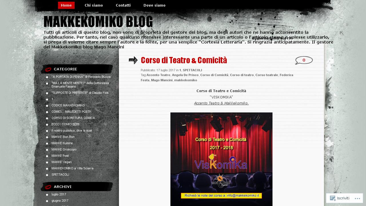 Makkekomiko Blog