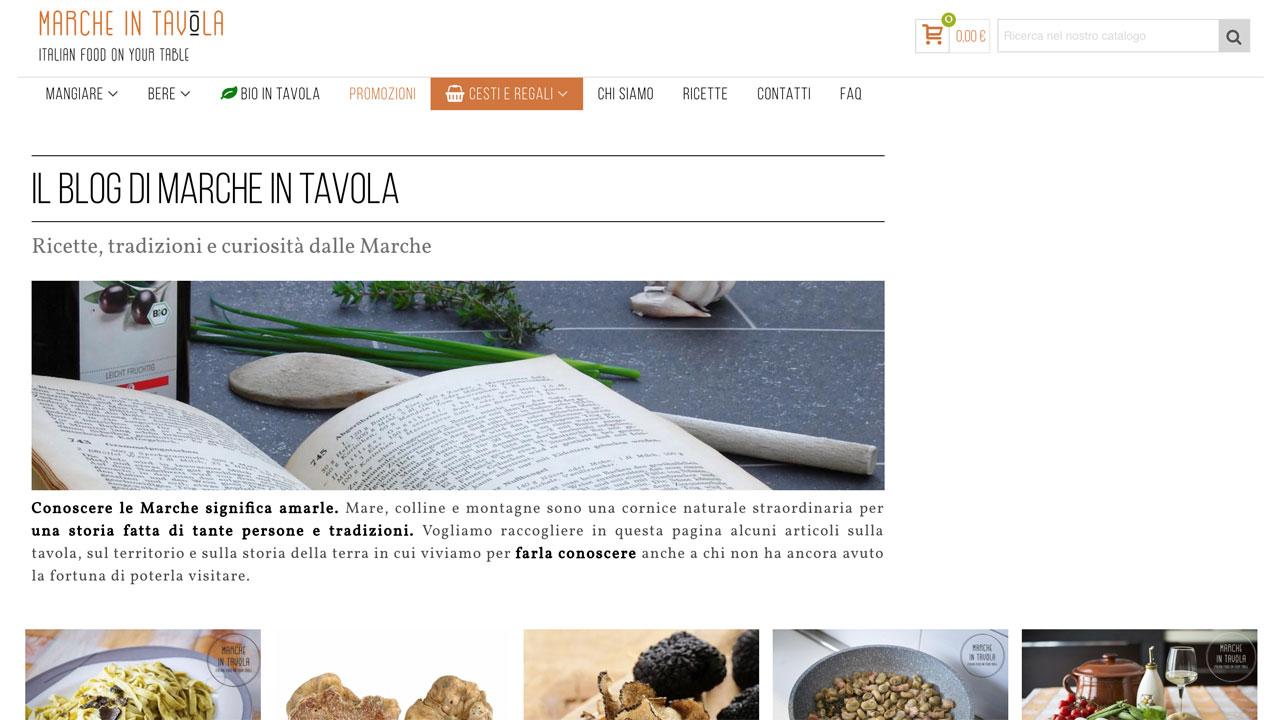 Marche in Tavola