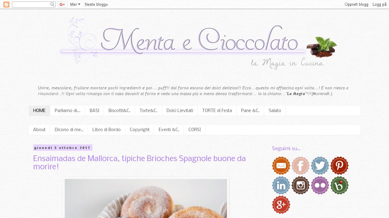 Menta e Cioccolato di Morena