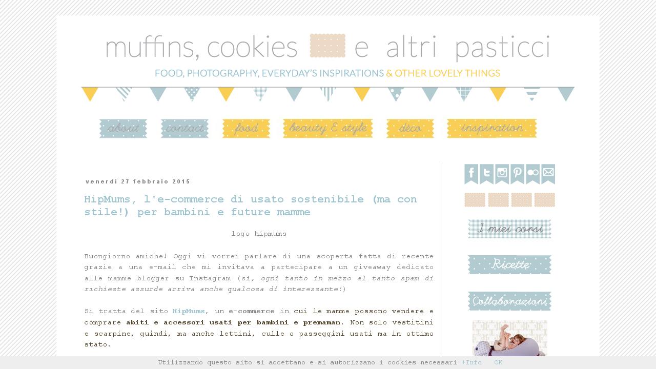 Muffins, cookies e altri pasticci