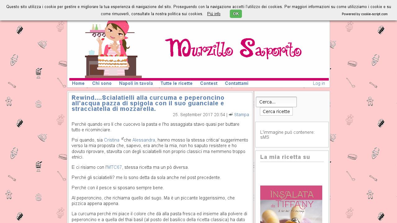 Murzillo Saporito | Blog di cucina