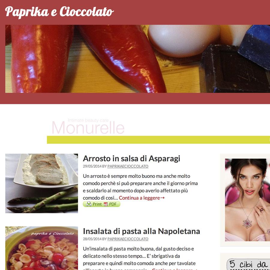 Paprika e Cioccolato