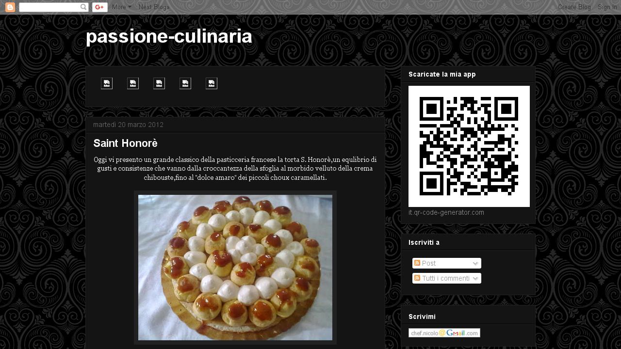 Passione culinaria