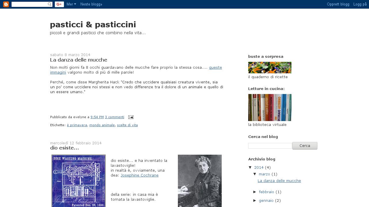 Pasticci & pasticcini