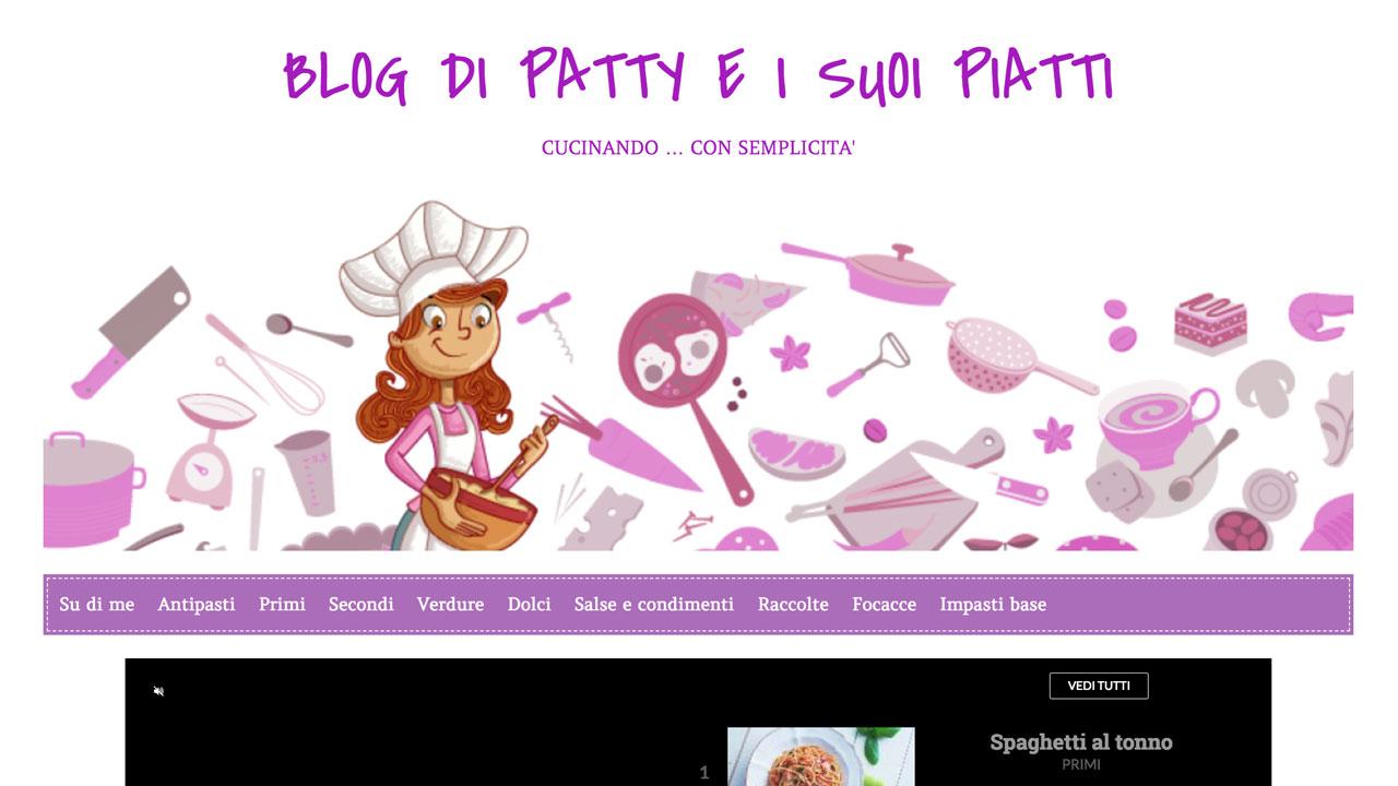 Patty e i suoi piatti