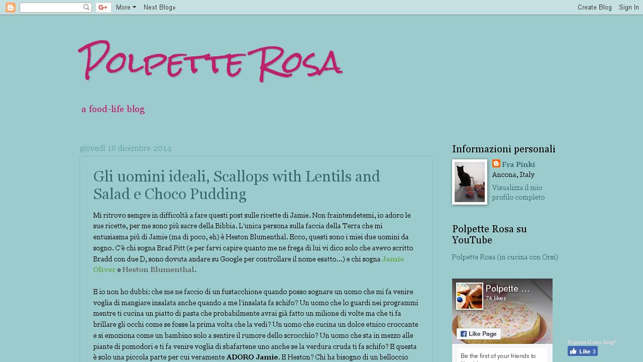 Polpette Rosa
