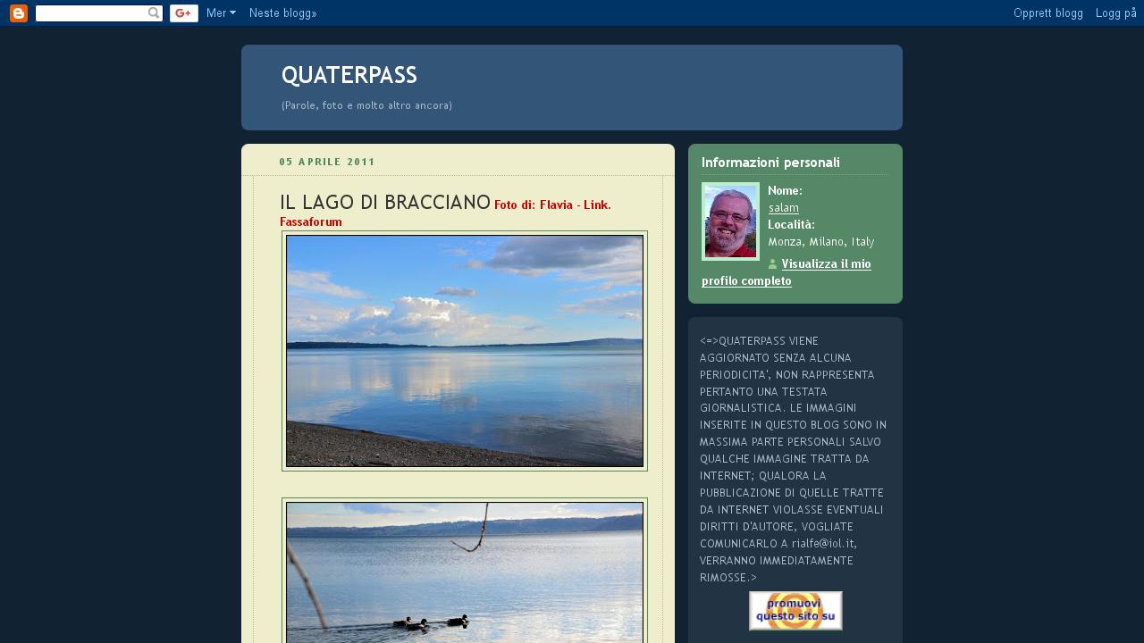Quaterpass