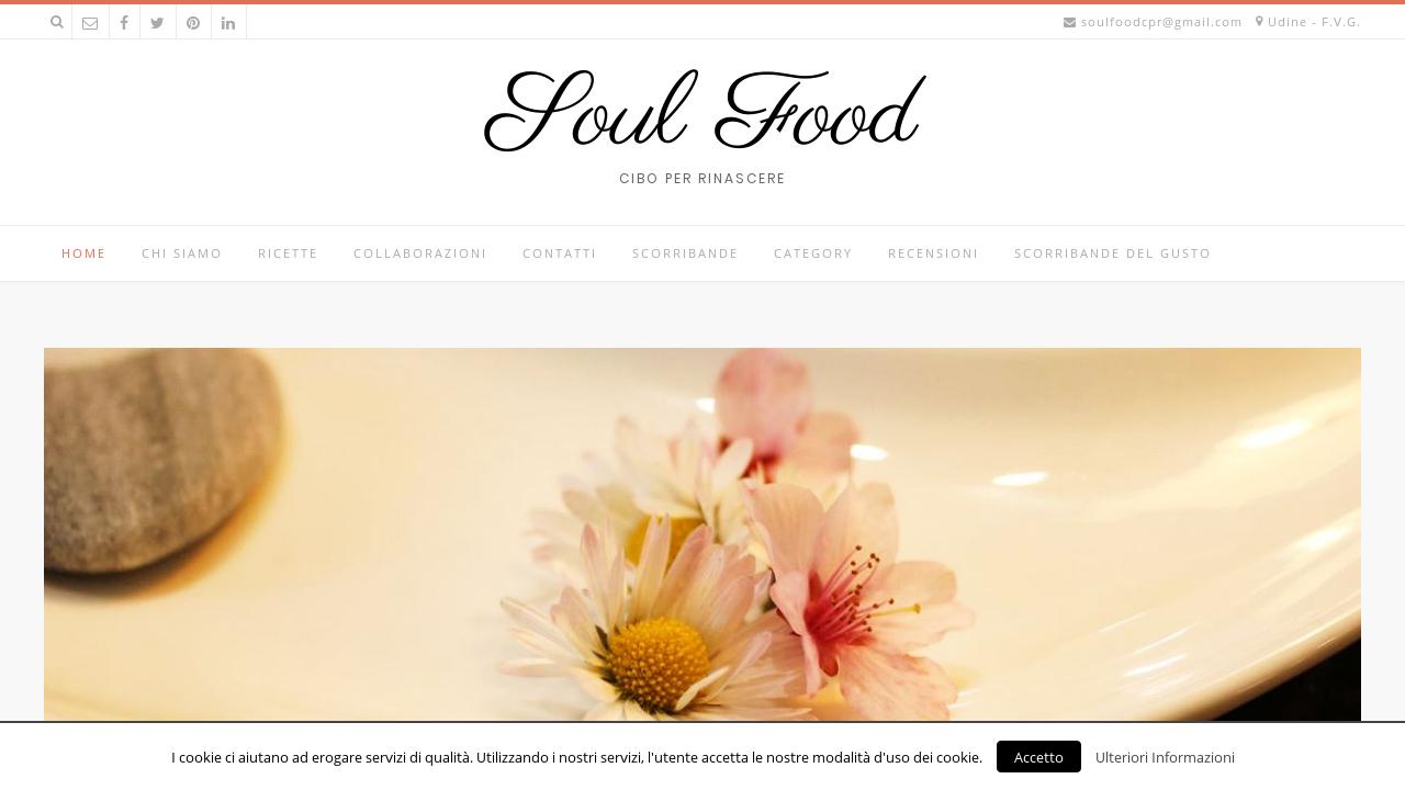 Soul Food Cibo per Rinascere