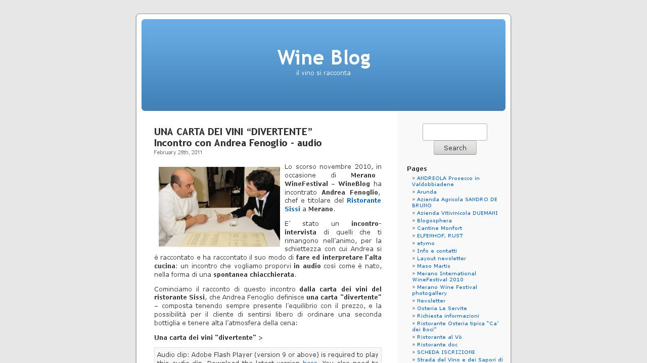 Wine Blog