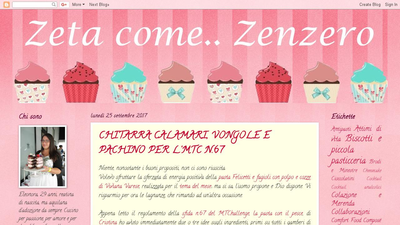 Zeta come zenzero for Cucinare zenzero