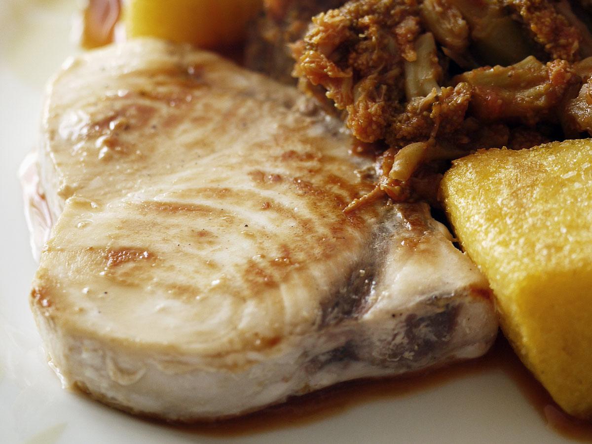 Trance di pesce spada all'aceto balsamico