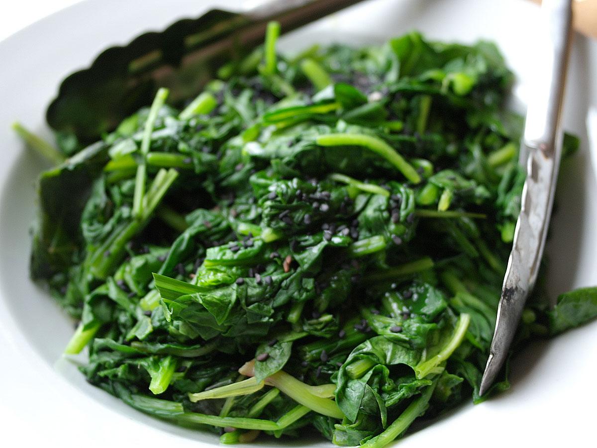 Purè di spinaci in cocotte