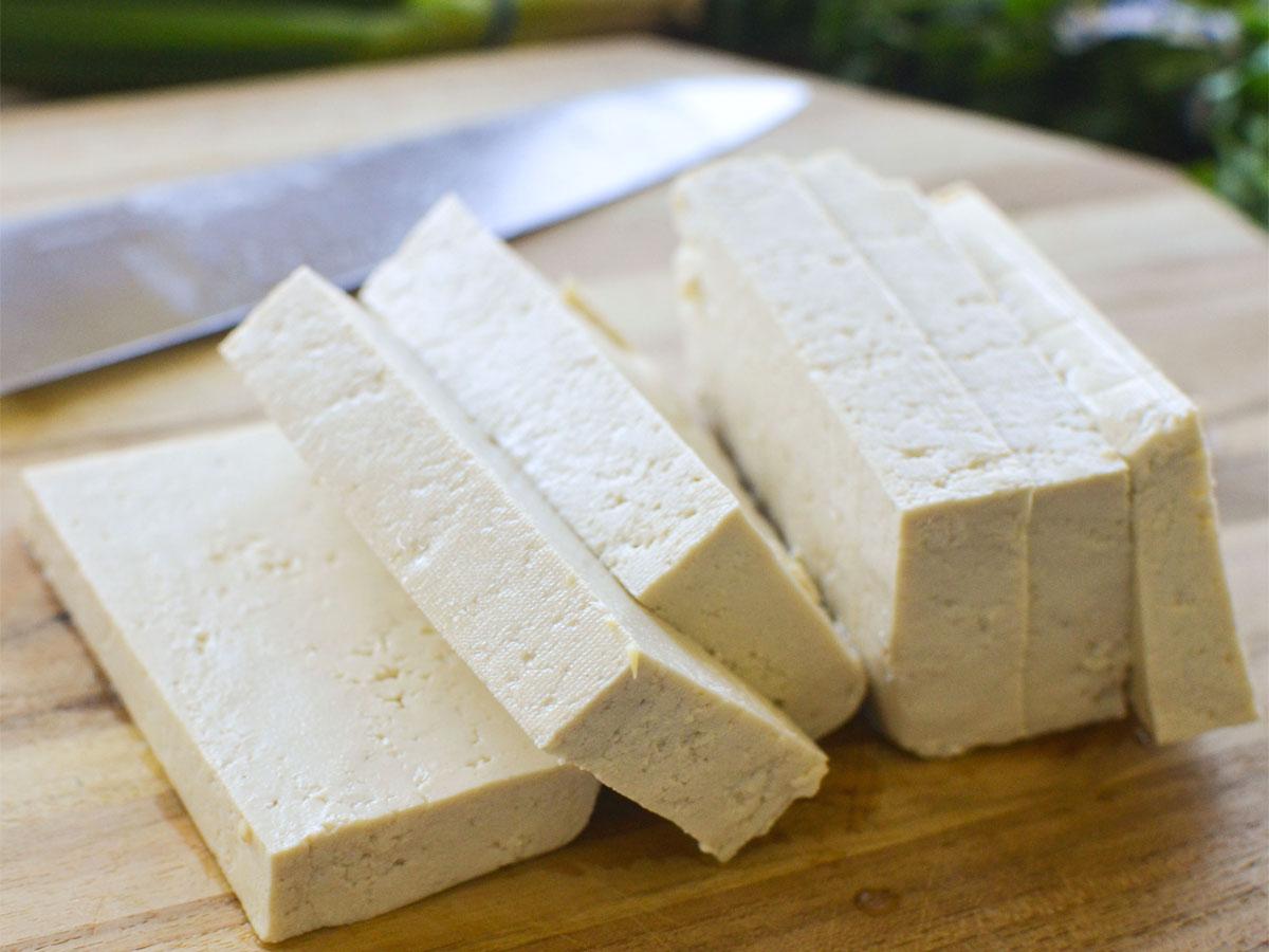 Crostata alla crema di tofu