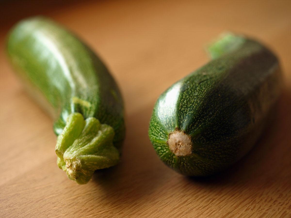 Risotto allo zafferano e fiori di zucchine