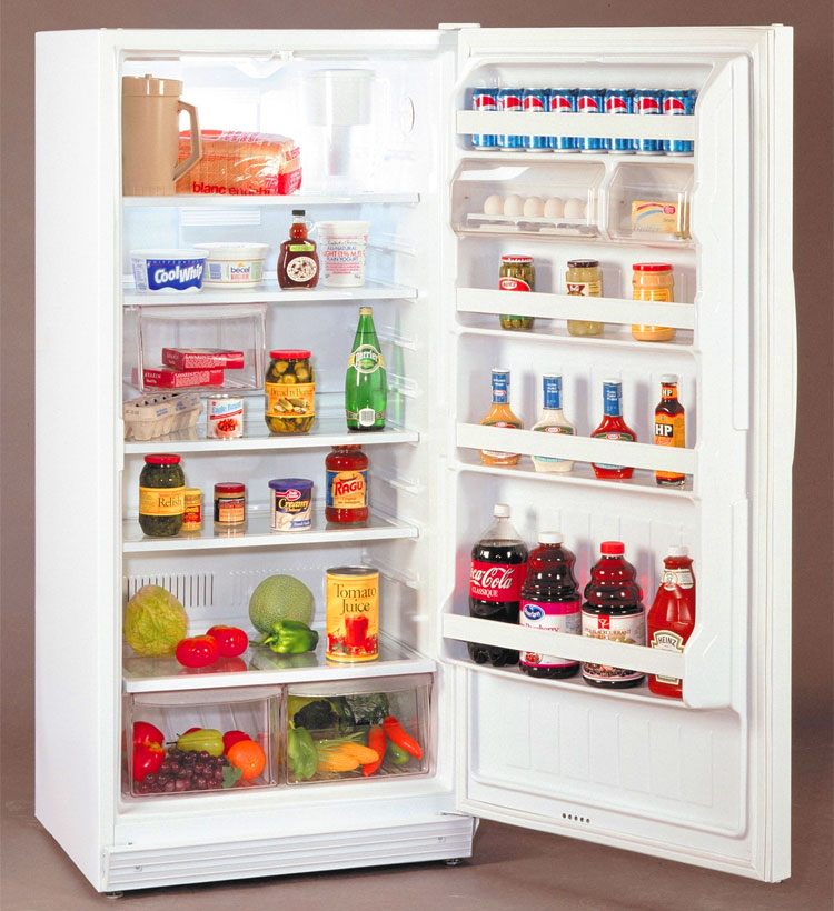 Cibo nel frigorifero