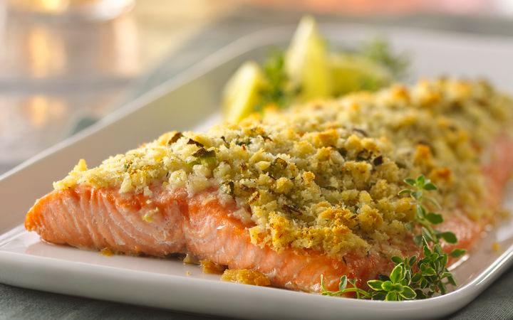 Salmone in crosta 2