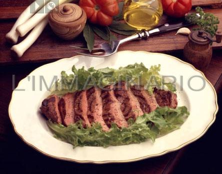 Tagliata alla griglia ricetta for Cucinare tagliata