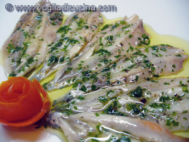 Alici marinate al limone