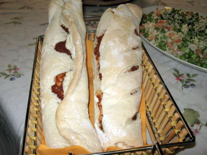 Pane con la sardella