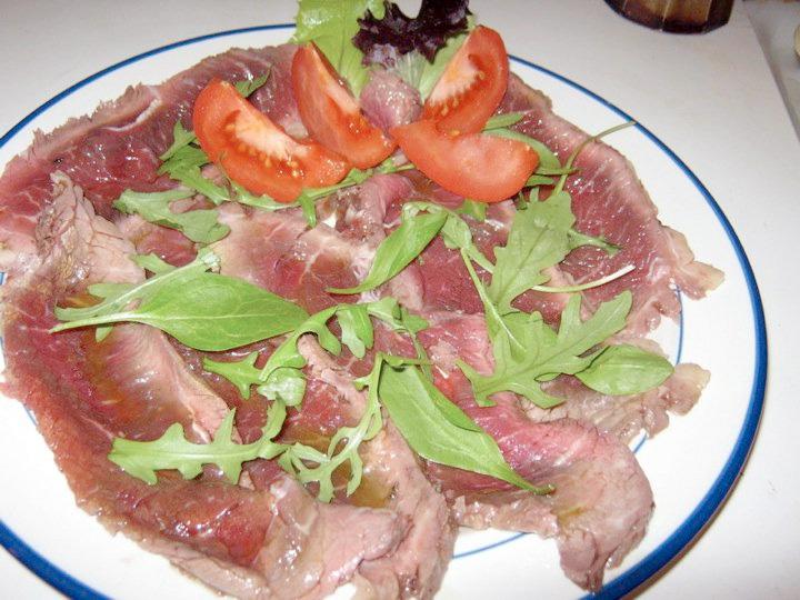 Tagliata di manzo di enza ricetta for Cucinare tagliata