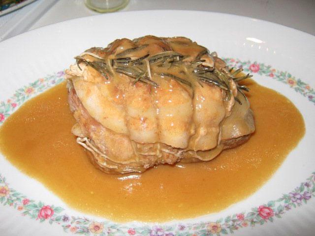 Arrosto di vitello avvolto in pancetta ricetta for Cuocere v cucinare