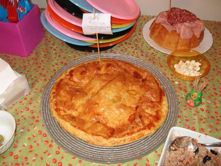 Torta sfogliata con polpa di granchio ricetta for Cucinare granchio