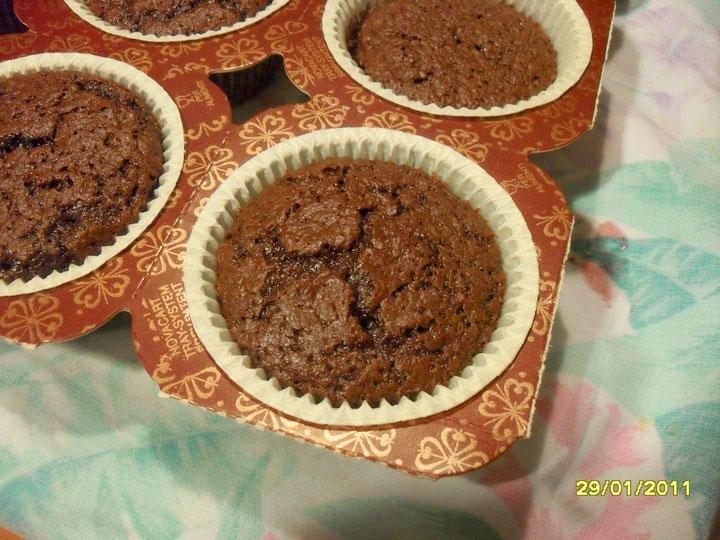 Muffin bianchi e muffin al cioccolato