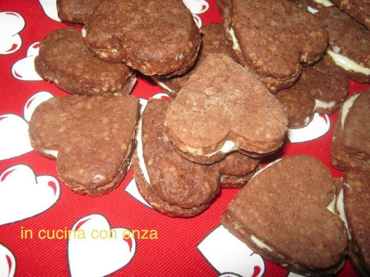 Biscotti romantici per san valentino