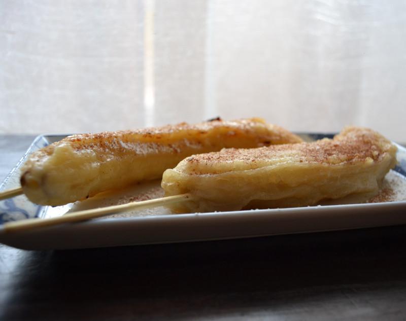 Banane fritte dolci