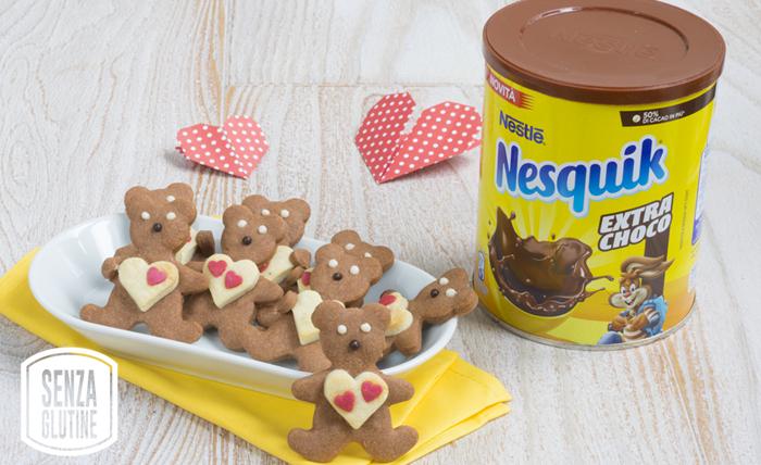 Biscotti con Nesquik Extra Choco