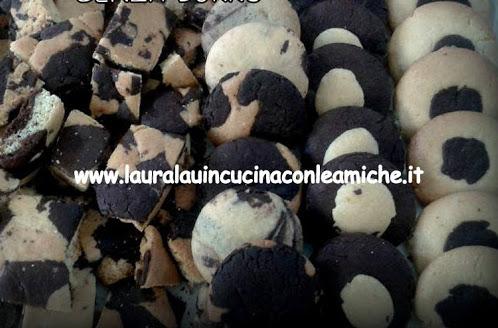 Biscotti bicolore di Laura Lau senza burro