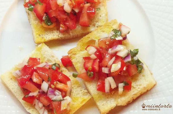 Bruschetta ai pomidoro
