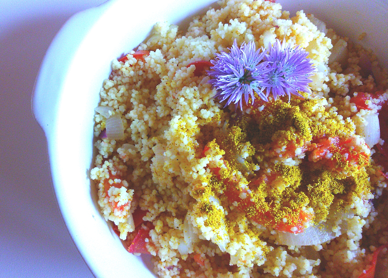 Cous cous saporito al curry