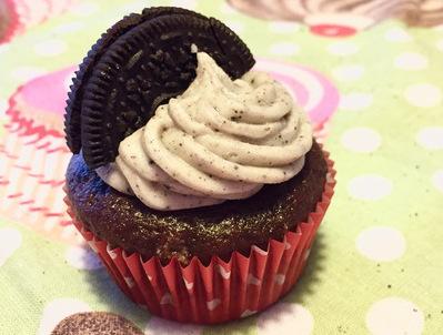 Cupcake con Oreo