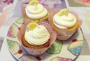 Cupcake con limone e vaniglia