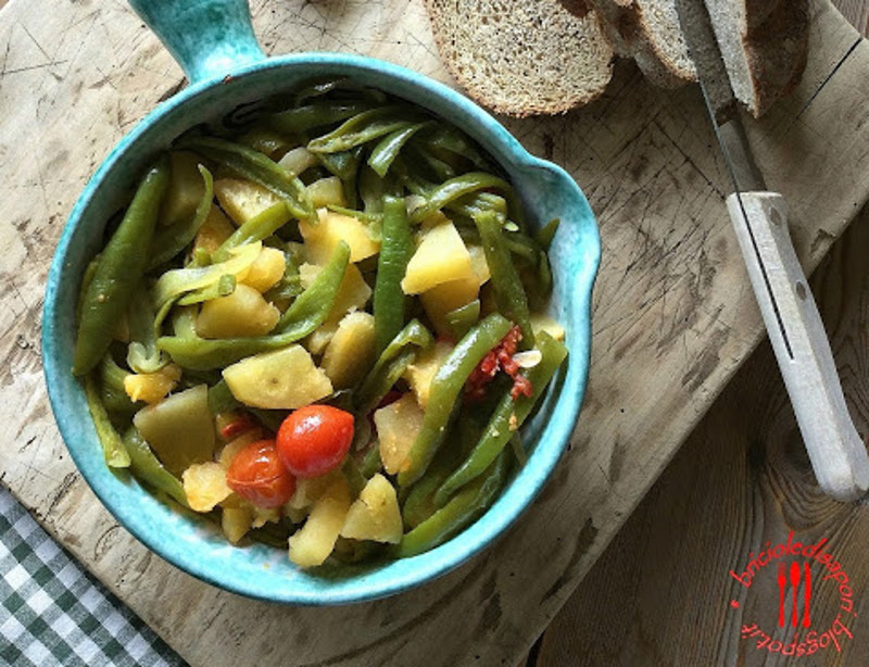Friggitelli, pomodorini e patate