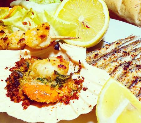 Grigliatina di pesce