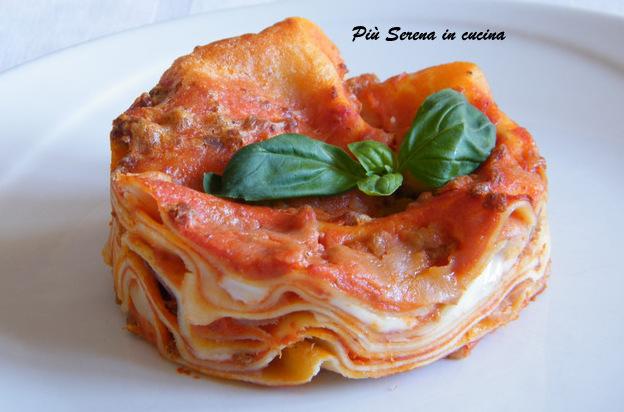 Lasagnette al forno