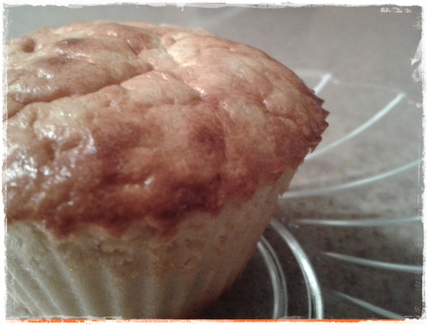 Muffin aromatizzati all'arancia