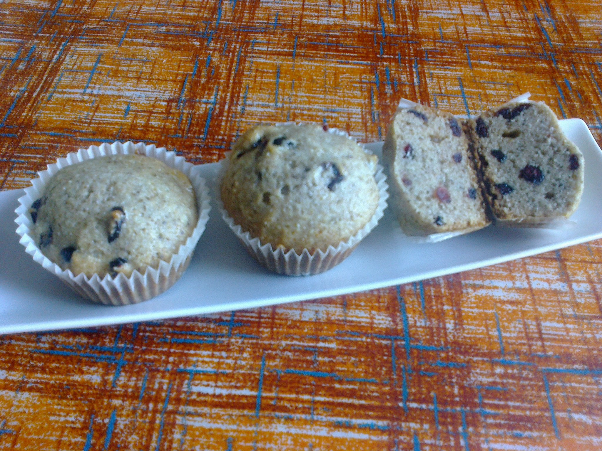 Muffin morbidi al profumo di tiglio