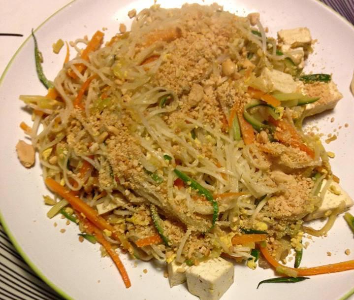 Pad thai vegetariano all 39 italiana ricetta for Cucinare vegetariano