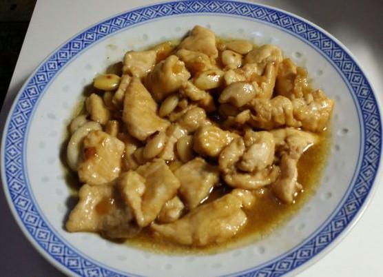Pollo alla cinese con le mandorle