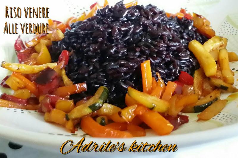 Riso venere alle verdure ricetta - Cucinare riso venere ...