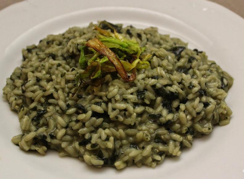 Risotto con ortica ricetta for Cucinare ortica