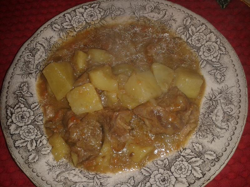 Spezzatino e patate