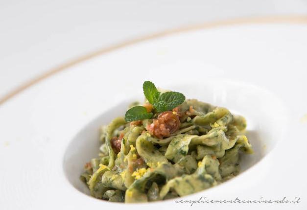 Tagliatelle all 39 ortica ricetta for Cucinare ortica